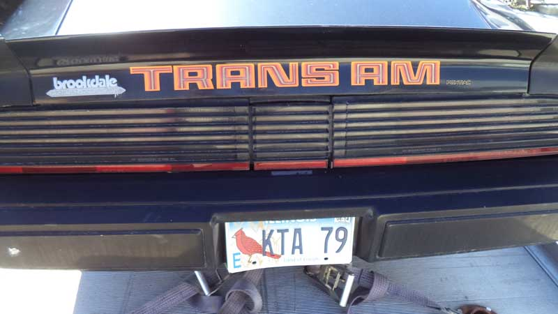 Kevin's Trans Am