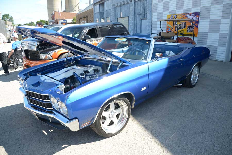 Tom's Blue Chevelle